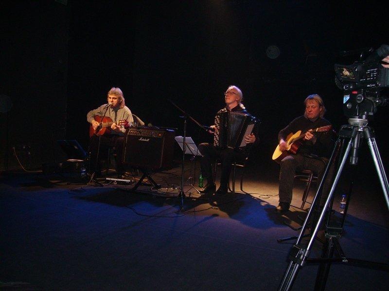 Алесь Камоцкі, Аляксандр Ясінскі, Алег Змушка