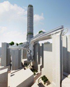 projet architecture du studio Urbanplunger biélorusso-tchèque